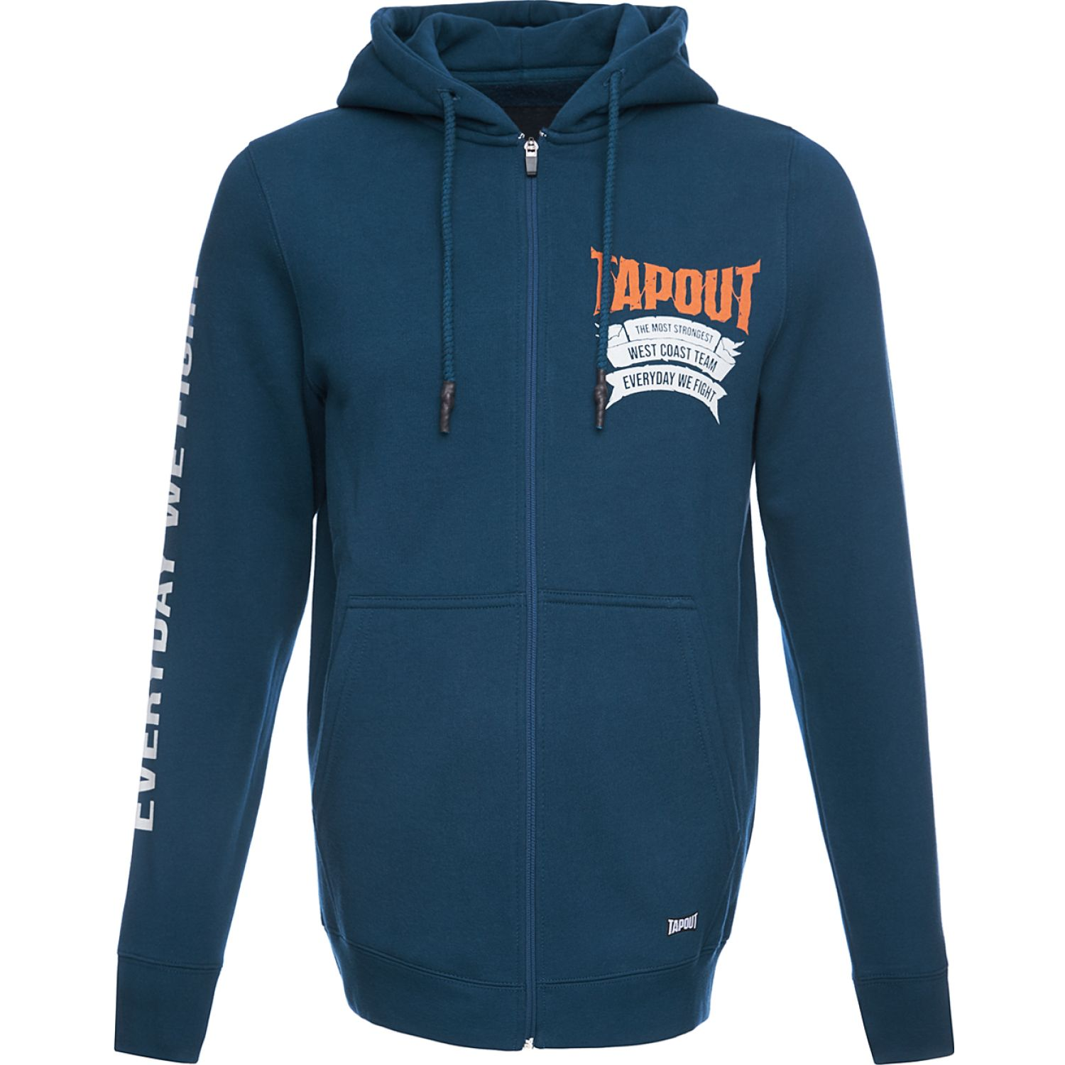 TAPOUT POLERA CASUAL STRONGEST ALGODÓN Azul Hoodies y Sweaters Fashion