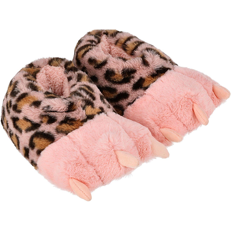 Casaideas pantufla garras rosado Rosado Pantuflas