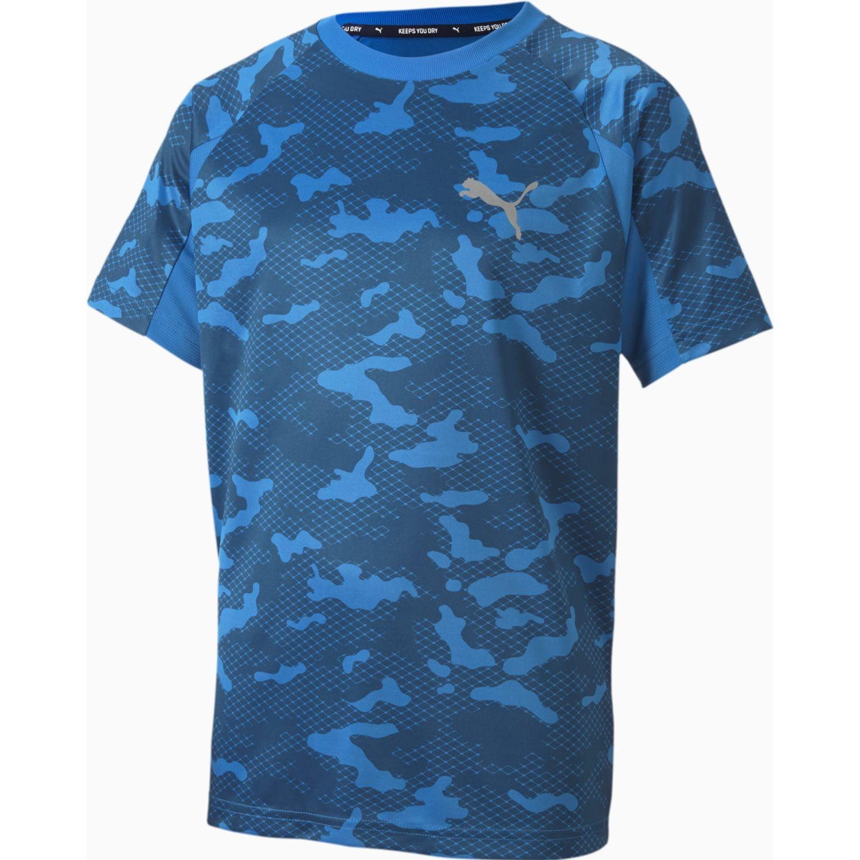 Puma Active Sports Aop Poly Tee B Azul Camisetas y polos deportivos