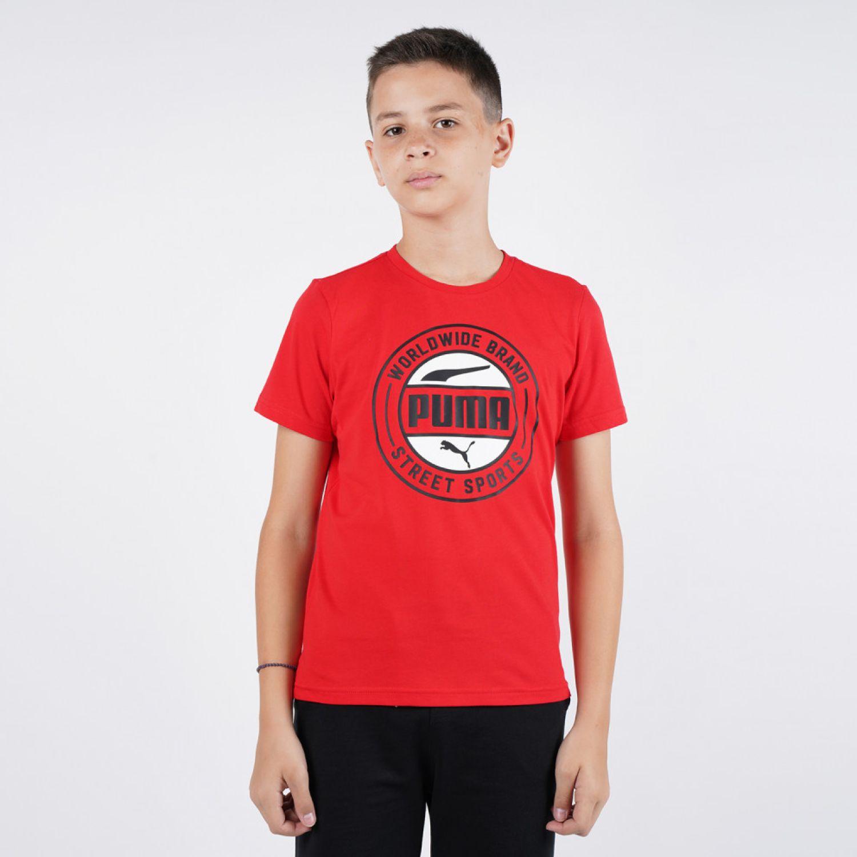 Puma Alpha Summer Tee B Rojo Camisetas y polos deportivos