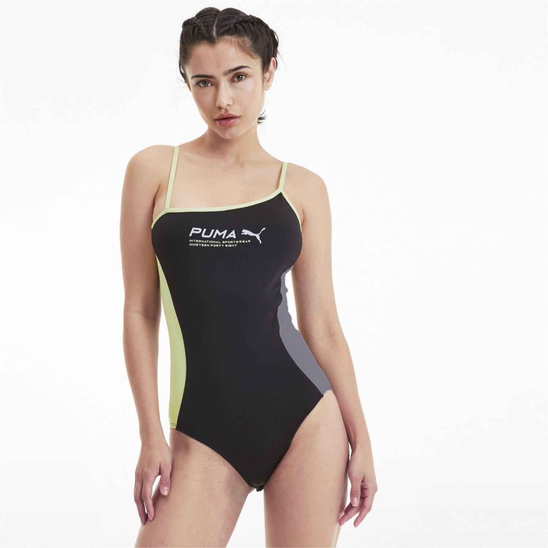 Puma Evide Sleeveless Body Negro Trajes acuáticos