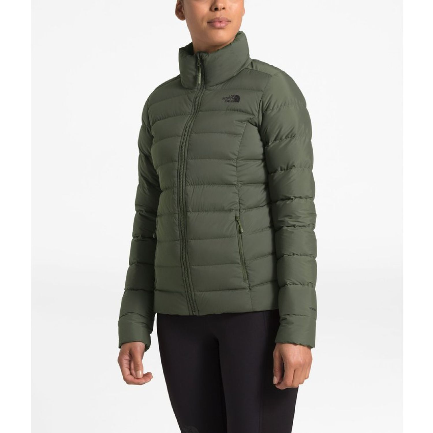 The North Face W Stretch Down Jacket Verde Impermeables y chaquetas