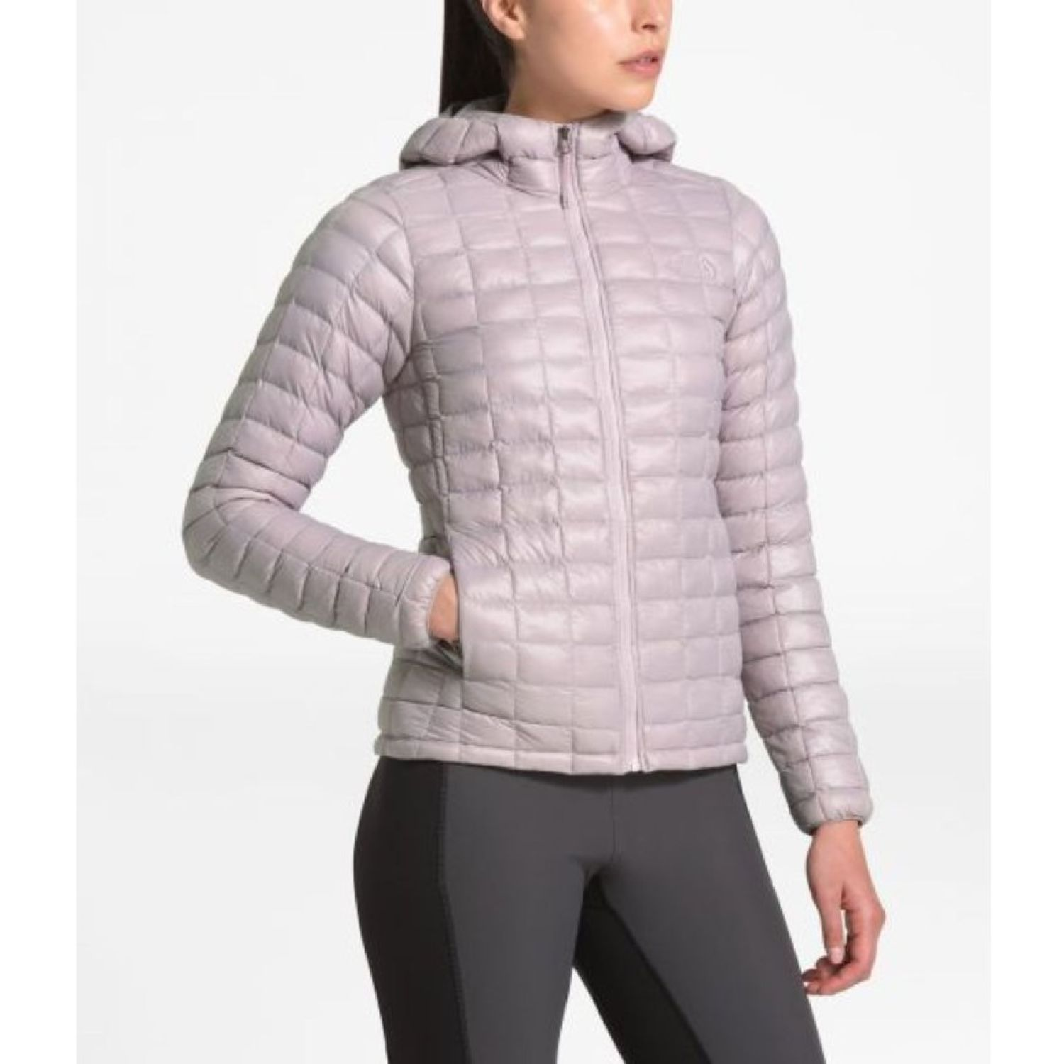 The North Face W THERMOBALL ECO HOODIE Rosado Impermeables y chaquetas
