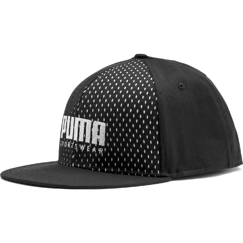 Puma PUMA SF Flatbrim Cap Negro Gorros de Baseball