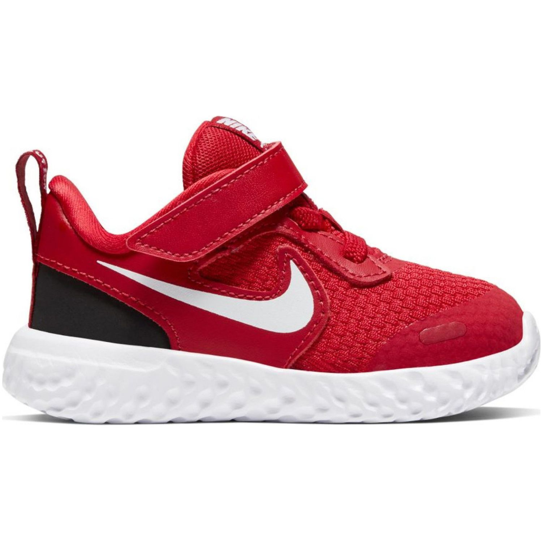 Nike Nike Revolution 5 Tdv Rojo / blanco Para caminar