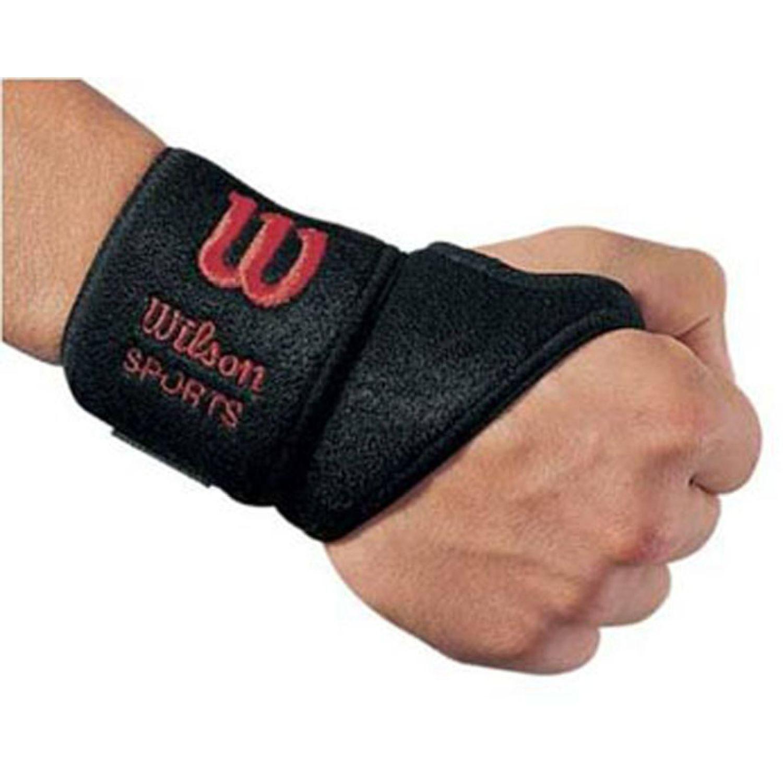 Wilson Soporte Para Muñeca Con Velcro Negro Los apoyos de mano y muñeca