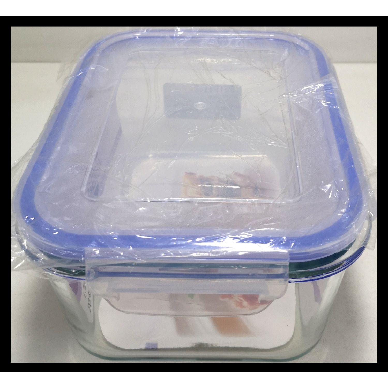ICHIMATSU Taper Vid Rectang 1.8lt Alto Hermetico Azul Sets de almacenamiento y organización de alimentos