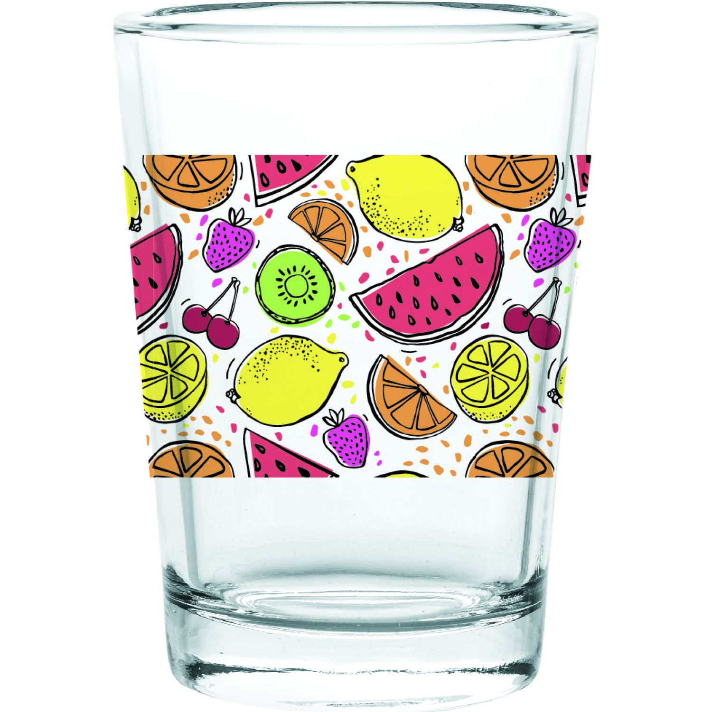 CRISTAR Vaso Can Herradura Jugo Dec Frutas Varios Juegos de cristalería