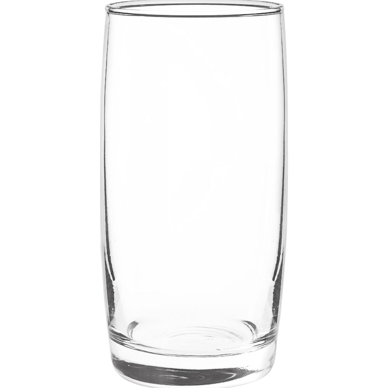 CRISTAR Vaso Can Liso Monterrey 0411cl6 Transparente Copas para cordial
