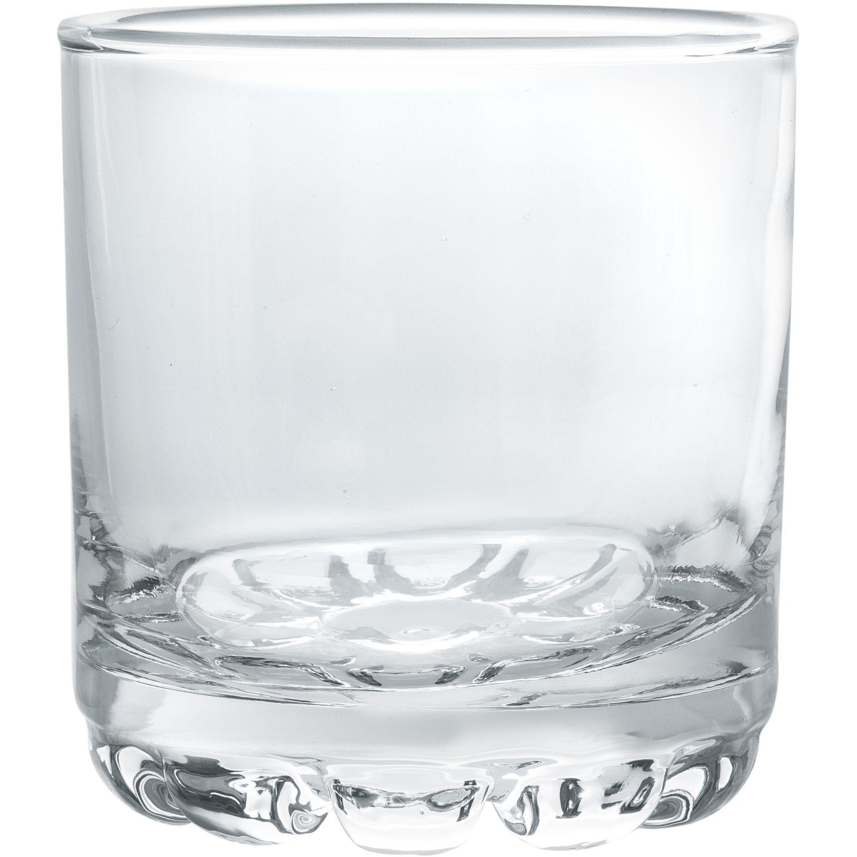 CRISTAR Vaso Can Capitol Rocks 0445cl6 Transparente Copas para Cordial