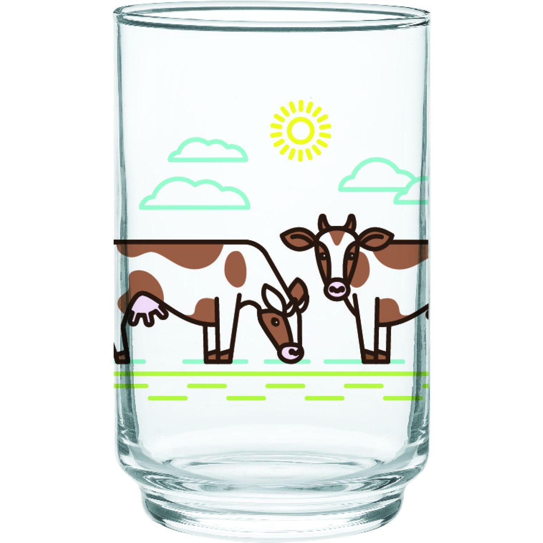 CRISTAR Vaso Can Alegro Bebida Dec Milk Varios Juegos de Cristalería