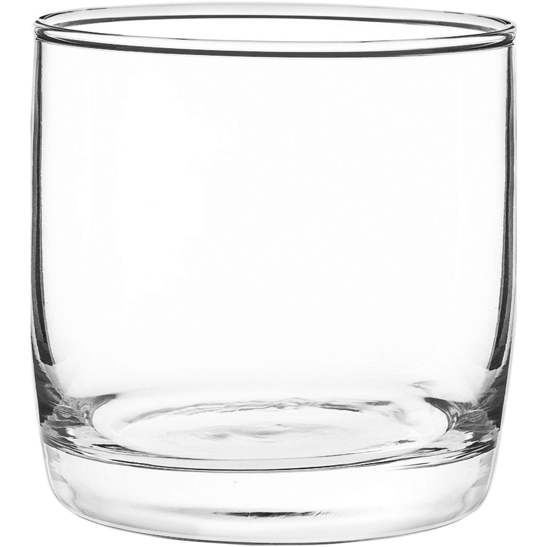 CRISTAR VASO CAN LISO MONTERREY ROCKS 0414CL6 Transparente Lentes cordiales y licor