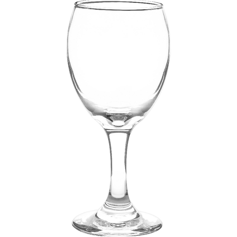 CRISTAR Copa Can Lisa Aragon Vino Blco X 6 Pz Transparente Copas de Vino