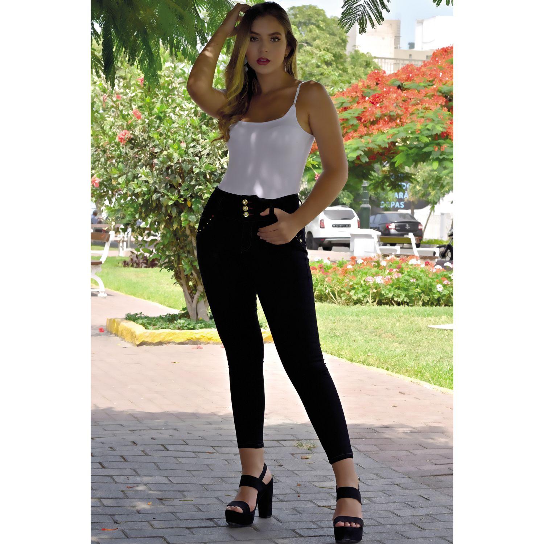 TANSY Jean Arianna Negro Casual
