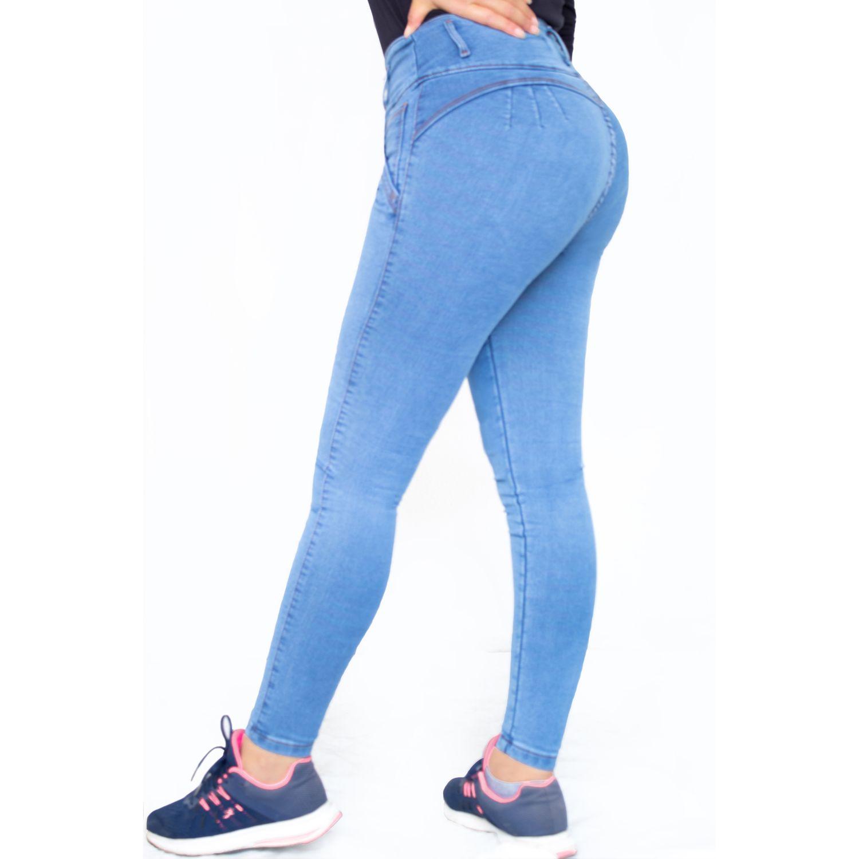TANSY Pantalon Jimena Celeste Casual