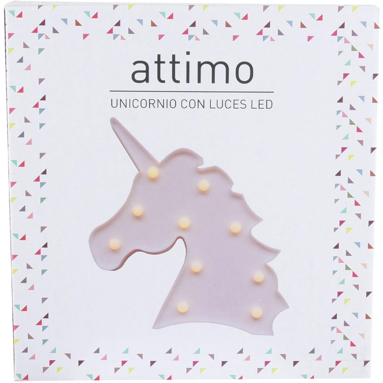 ATTIMO Lampara Led Unicornio Blanco Lámparas de figuras