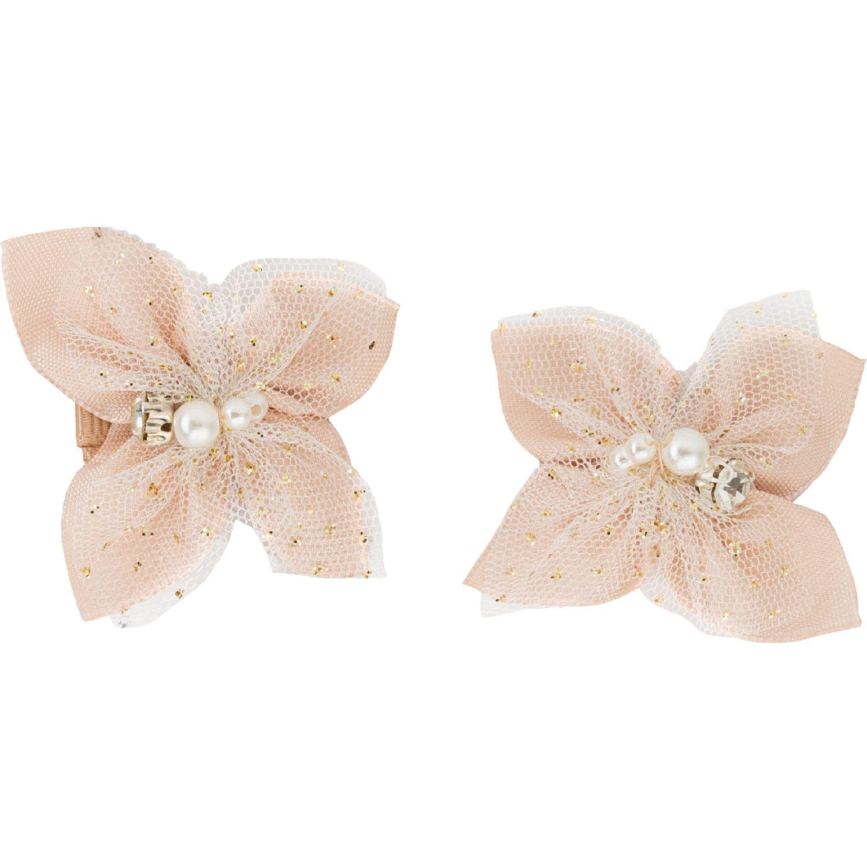 BABY CLUB CHIC Ganchito Magnolia Rose gold Accesorios para el Cabello