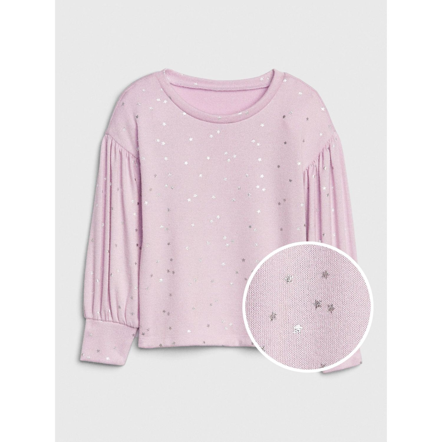 GAP POLO MANGA LARGA TODDLER NIÑA Lila Tees