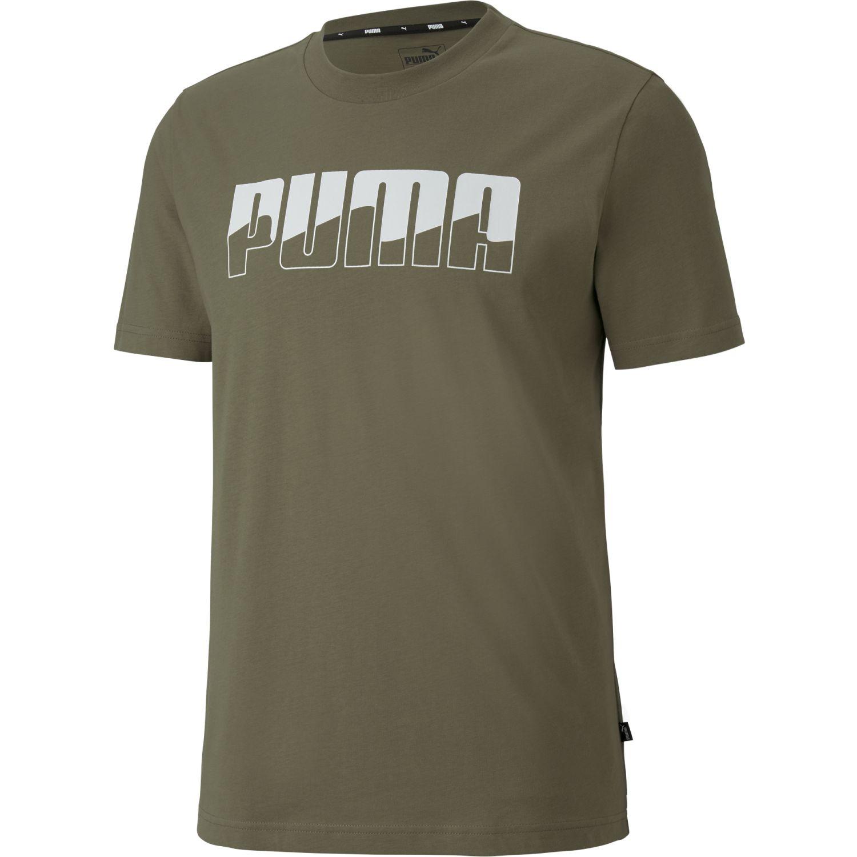 Puma Rebel Bold Tee Olivo Camisetas y polos deportivos