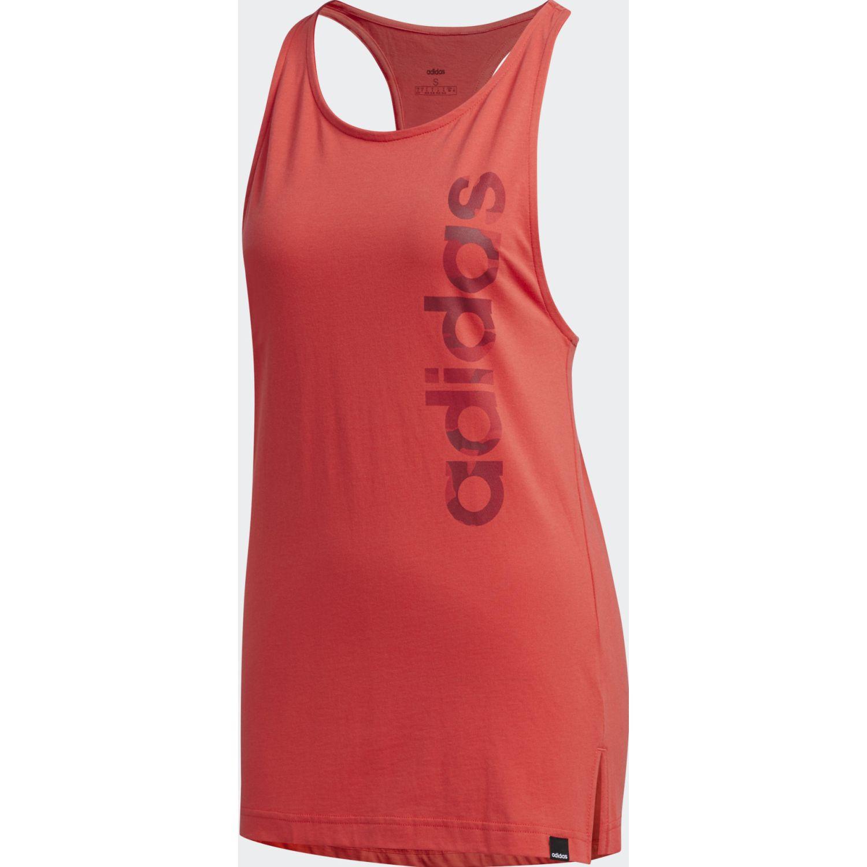 Adidas W Boxed Camo Tk Rojo Camiseta sin mangas