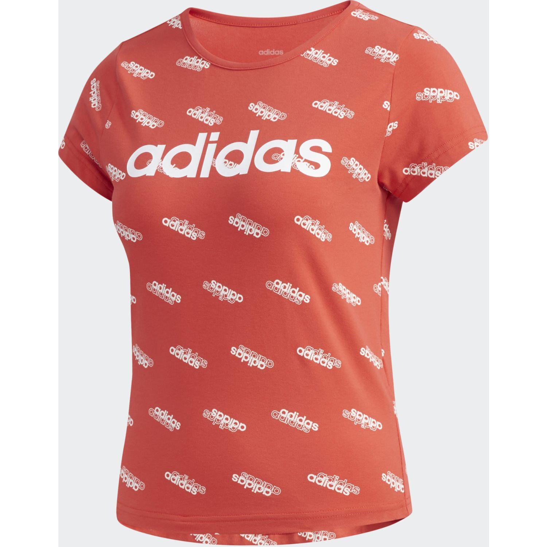 Adidas W Fav T Rojo / blanco Polos