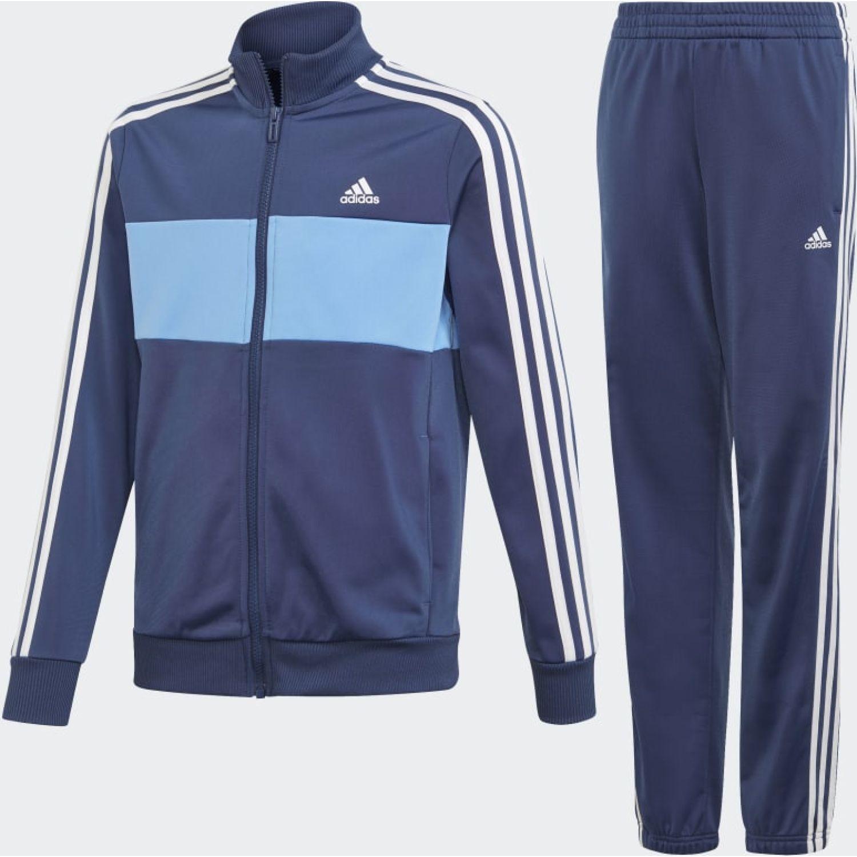 Adidas YB TS TIBERIO Azul / celeste Buzos Deportivos