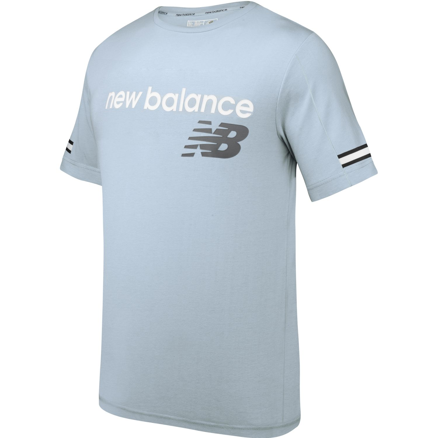 New Balance Polera Essentials Celeste Hoodies Deportivos