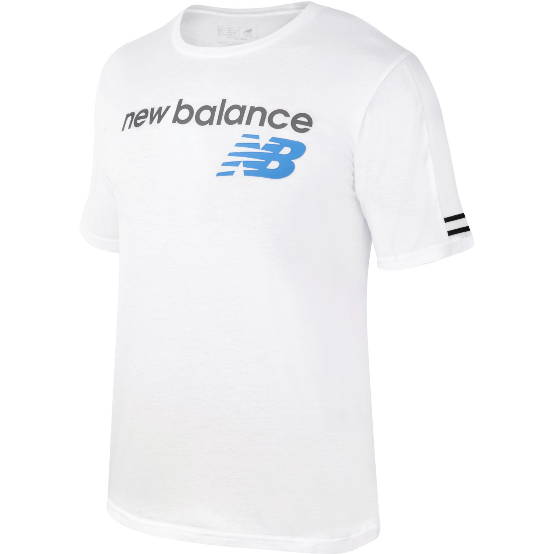 New Balance Polera Essentials Blanco Hoodies Deportivos