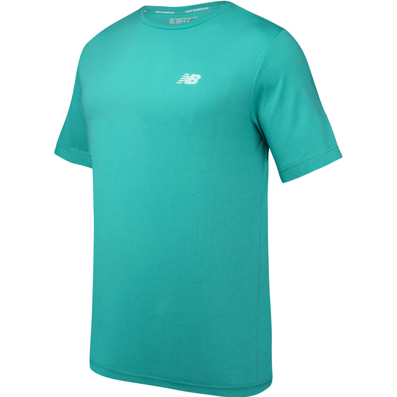 New Balance Polera Essentials Verde Hoodies Deportivos