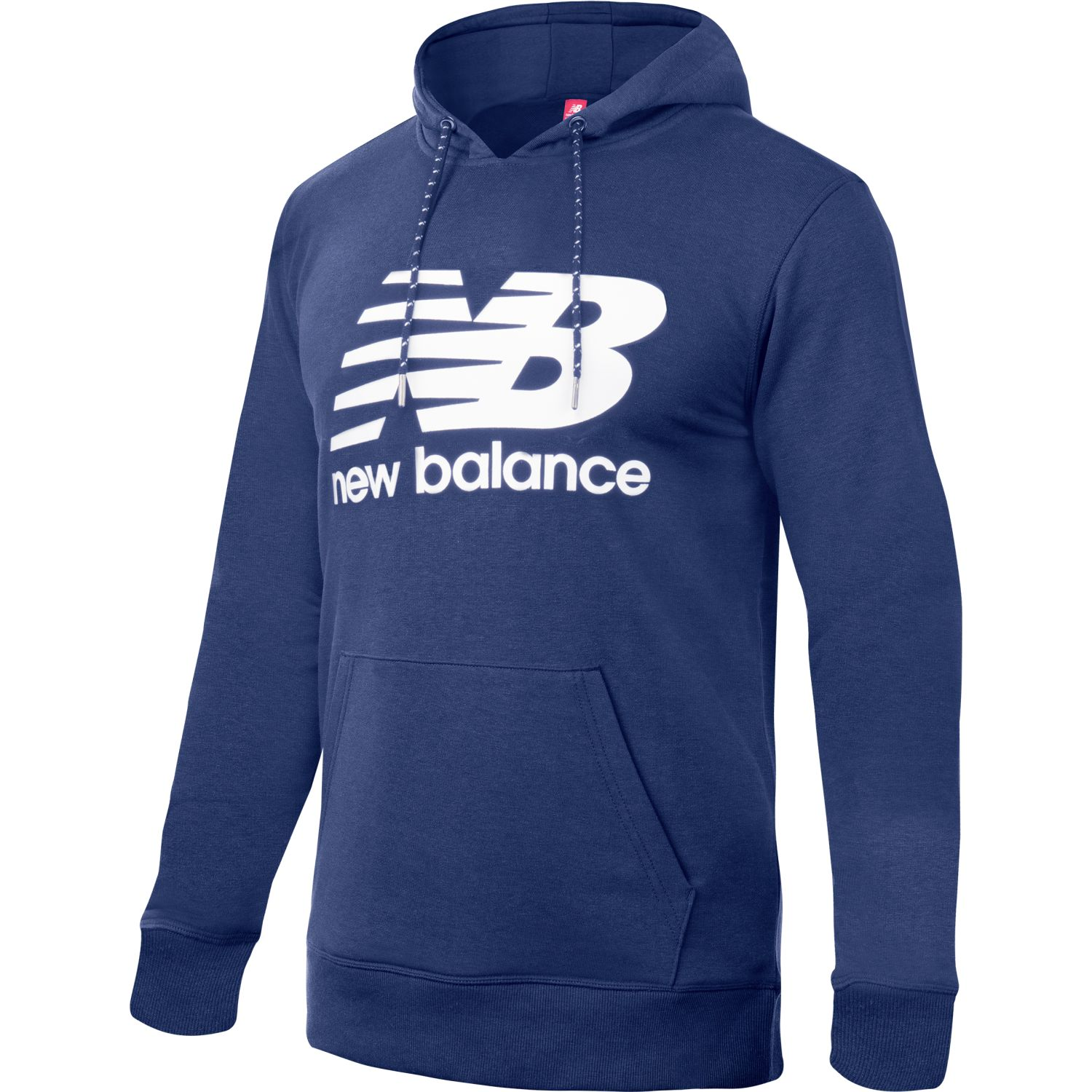 New Balance Essentials Stacked Po Hoodie Azul Hoodies deportivos