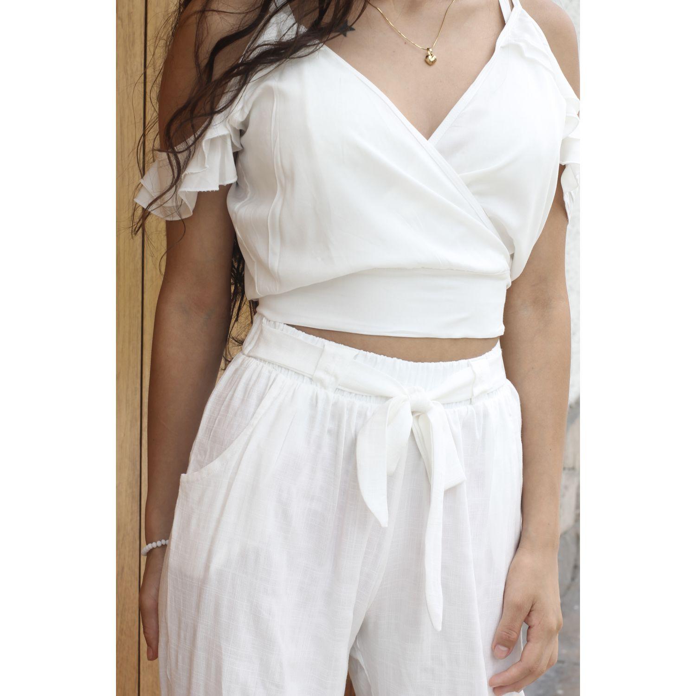 URPI DREAMS Blusa Luana Perla Blusas y camisas con botones