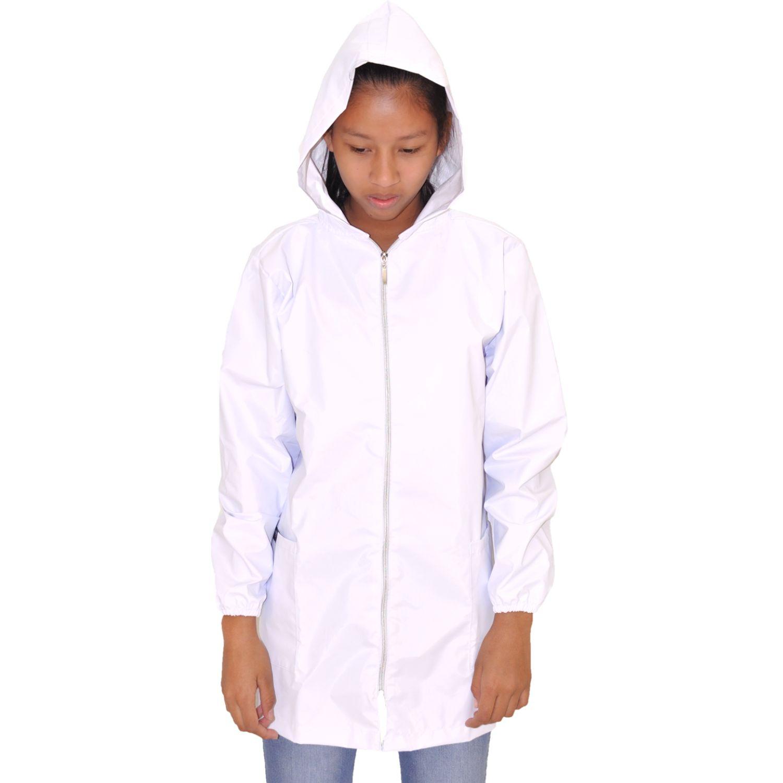 COTTONS JEANS Luzmila Blanco Impermeables y chaquetas
