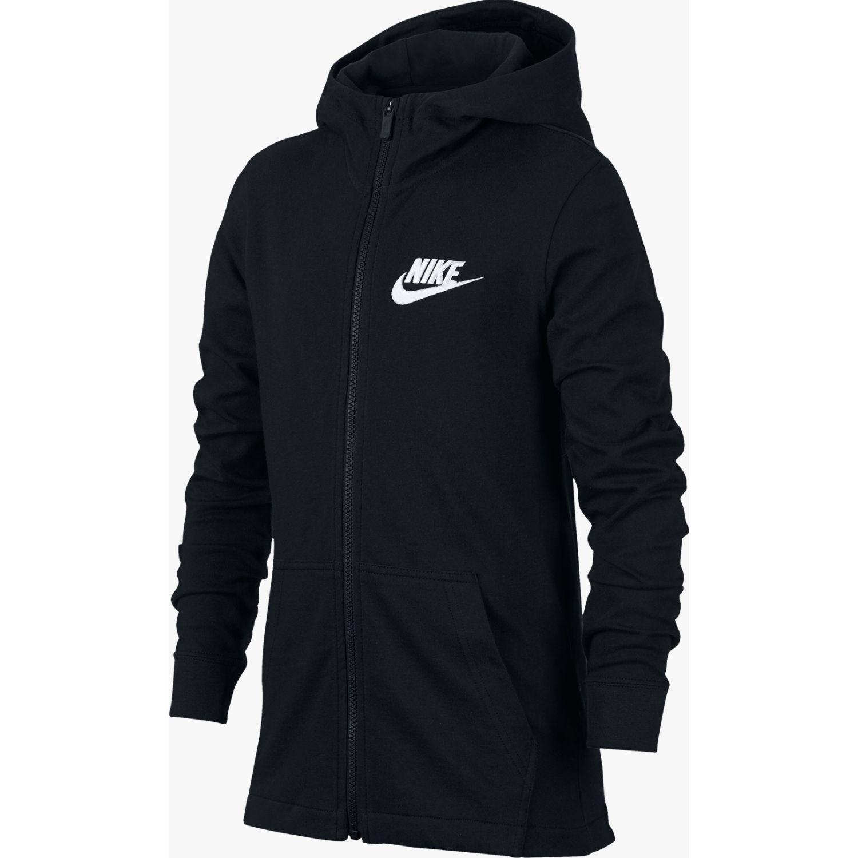 Nike B Nsw Hoodie Fz Jsy Negro Abrigos de plumas y alternativos