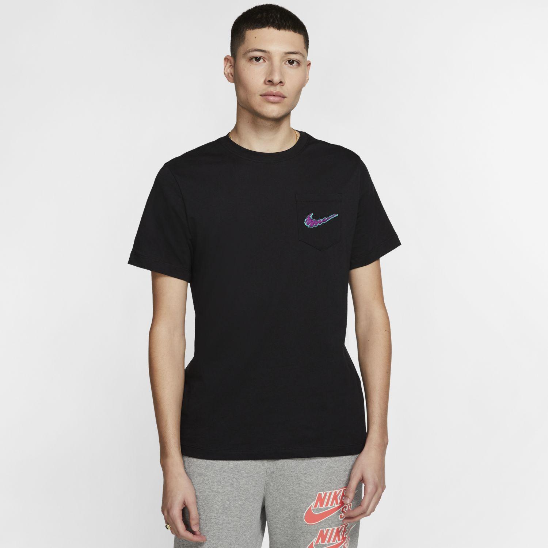 Nike M Nk Sb Tee Pkt Mini Truckin Negro Camisetas y polos deportivos