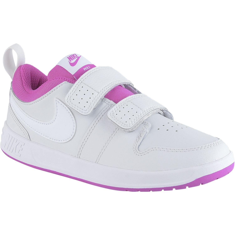 Nike Nike Pico 5 Psv Blanco / rosado Para caminar