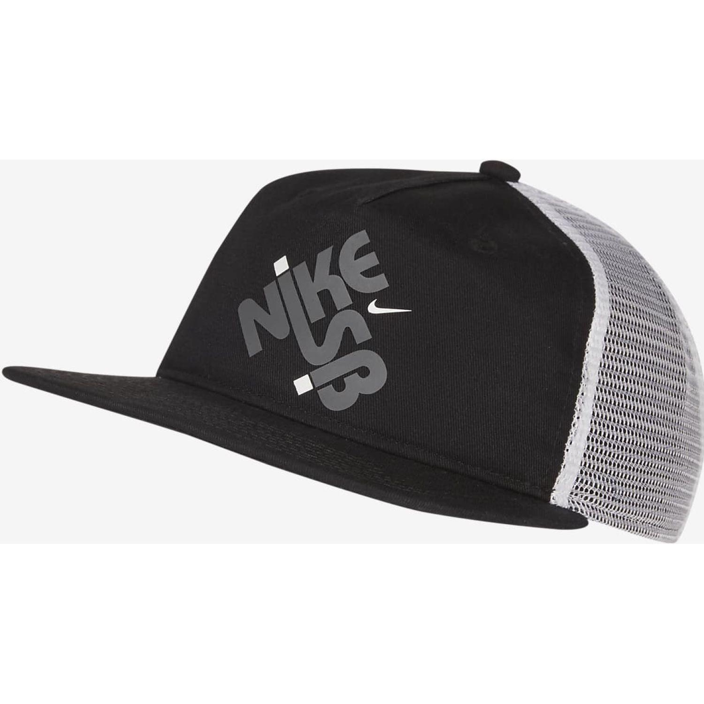 Nike U Nk Pro Cap Trucker Gfx Negro Gorros de Baseball