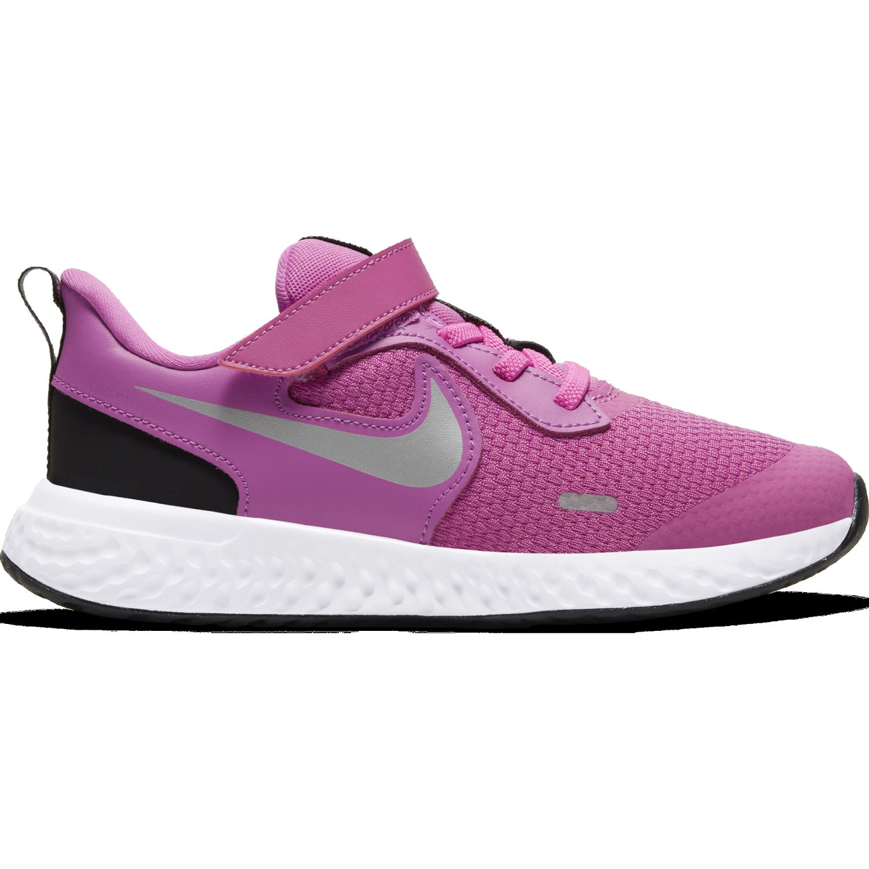 Nike Nike Revolution 5 Psv Rosado / gris Para caminar