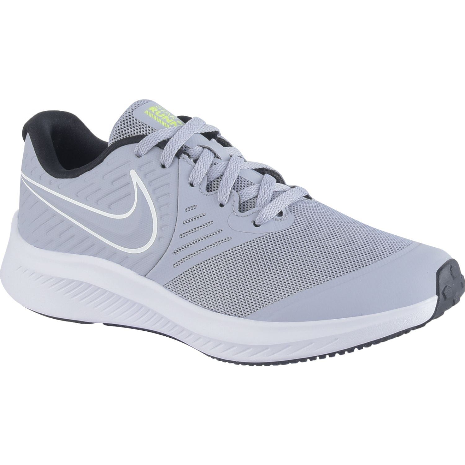 Nike NIKE STAR RUNNER 2 GS Gris / blanco Walking