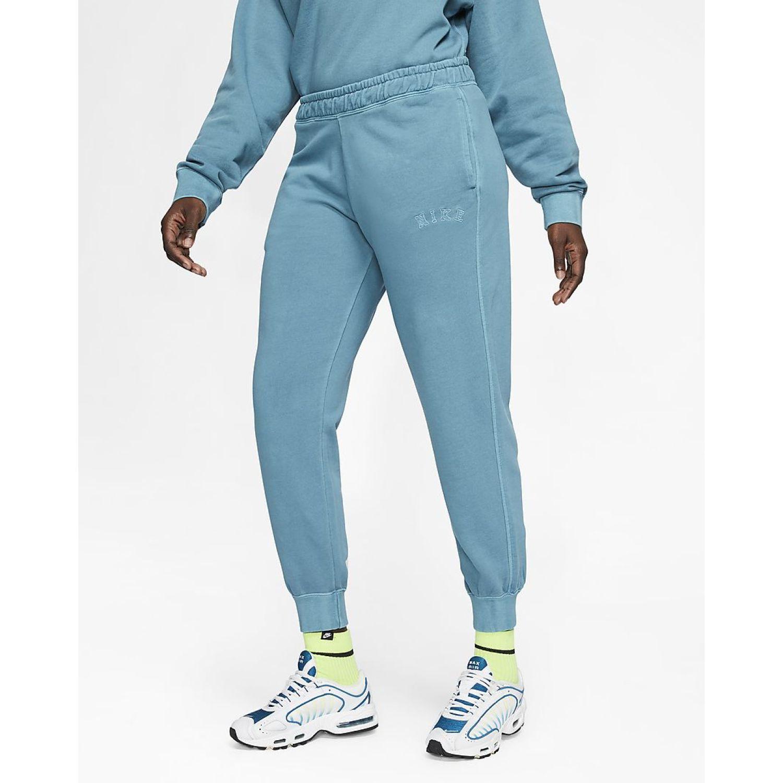 Nike W NSW WASH PANT FT Celeste Pantalones Deportivos