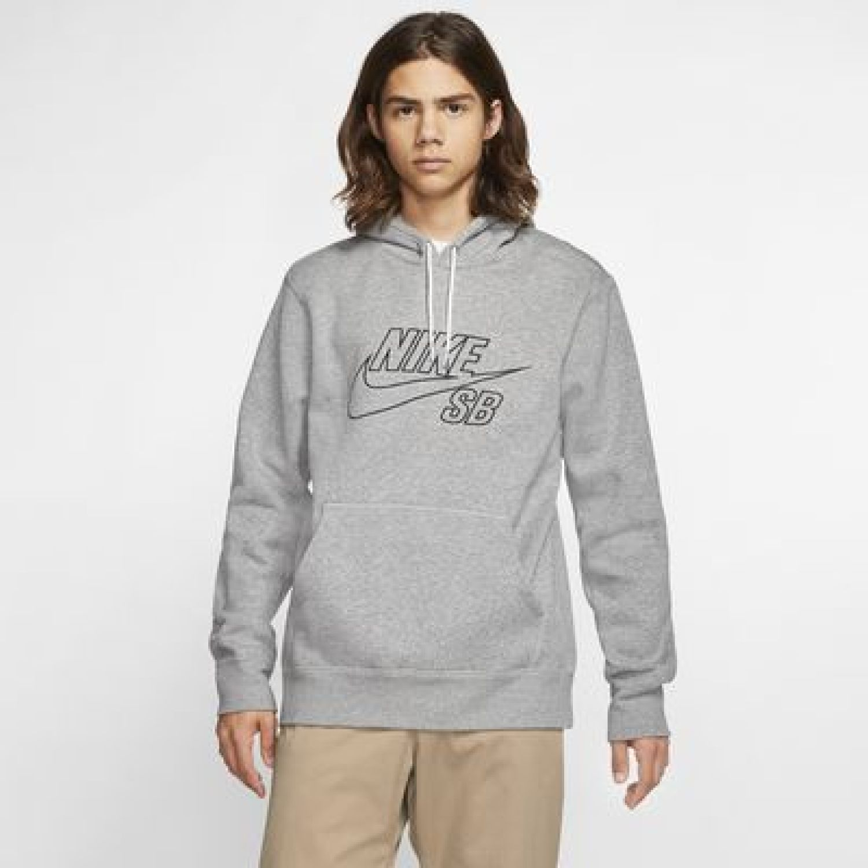 Nike M Nk Sb Po Hoodie Embroidery Plomo Hoodies deportivos