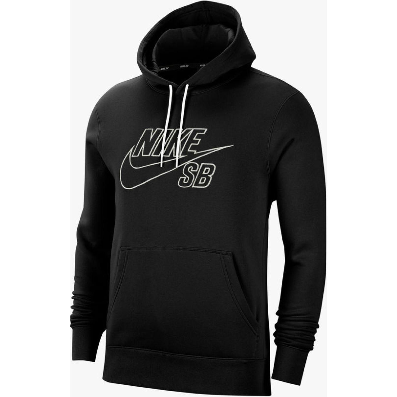 Nike M Nk Sb Po Hoodie Embroidery Negro Hoodies deportivos