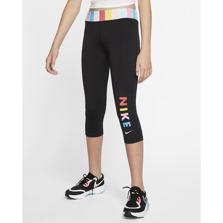 Nike G Nike One Tight Capri Fb Negro Pantalones y capris