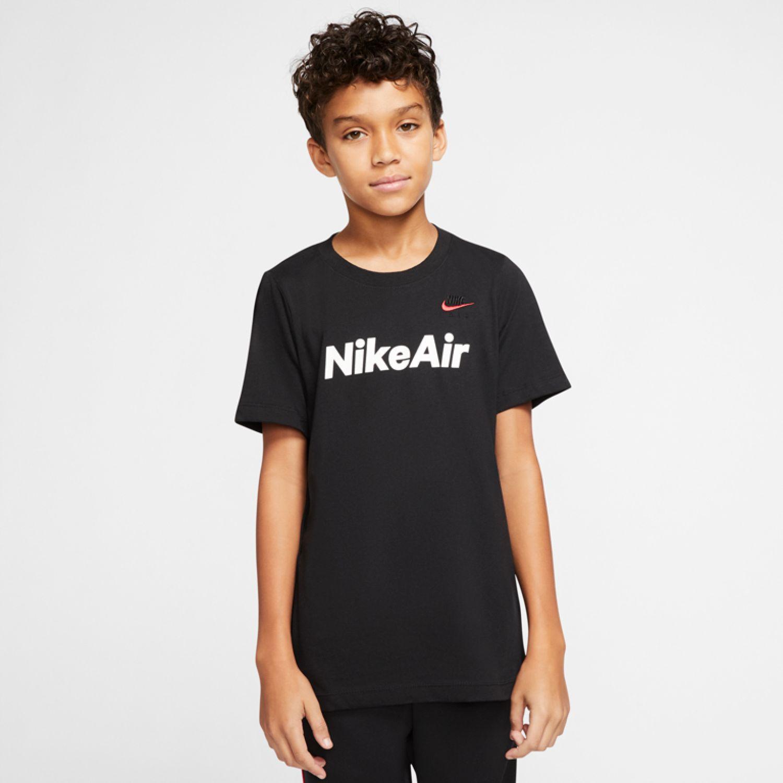Nike B Nsw Tee Nike Air C&s Negro Camisetas y Polos Deportivos