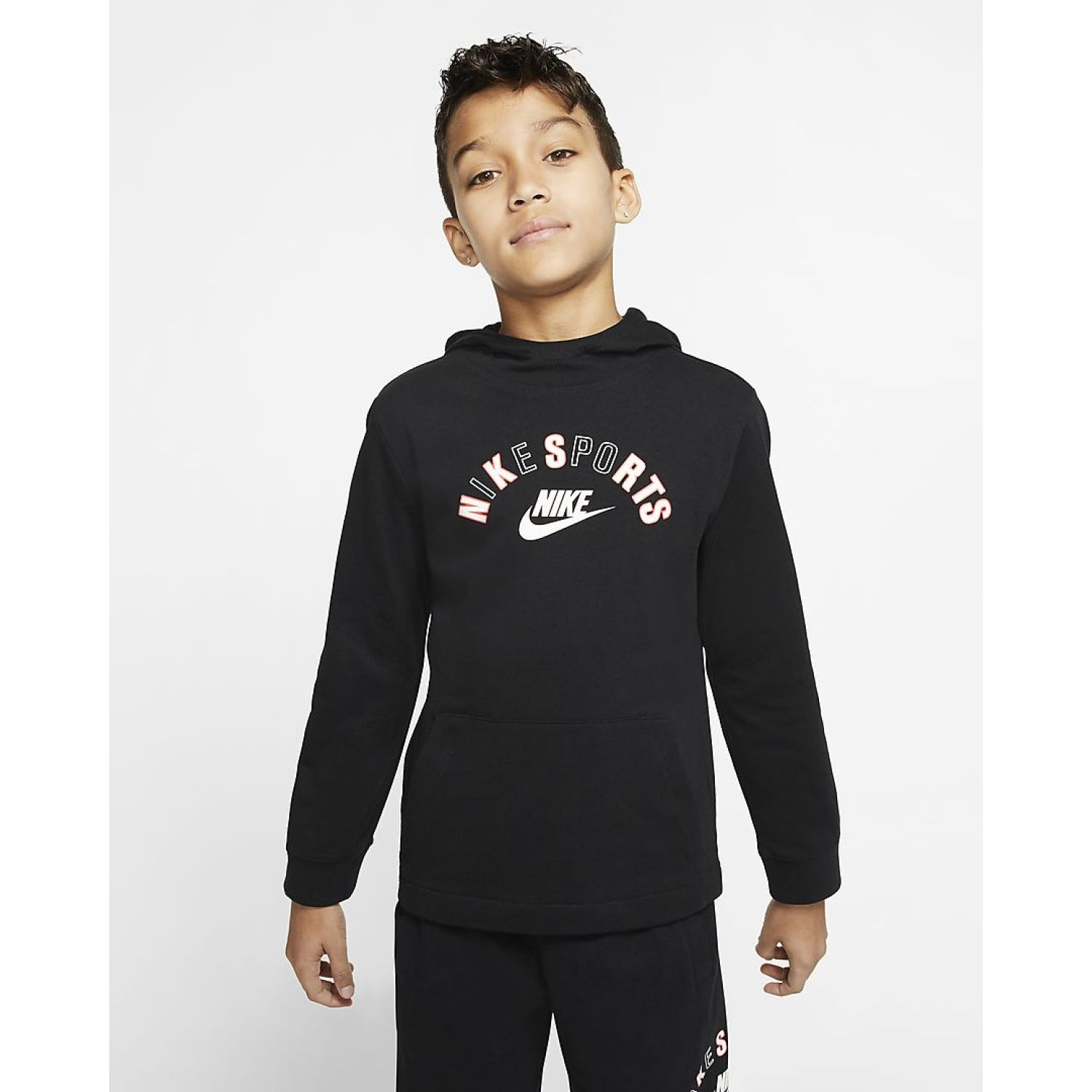 Nike B NSW RTL GOOD JSY HD Negro Hoodies Deportivos