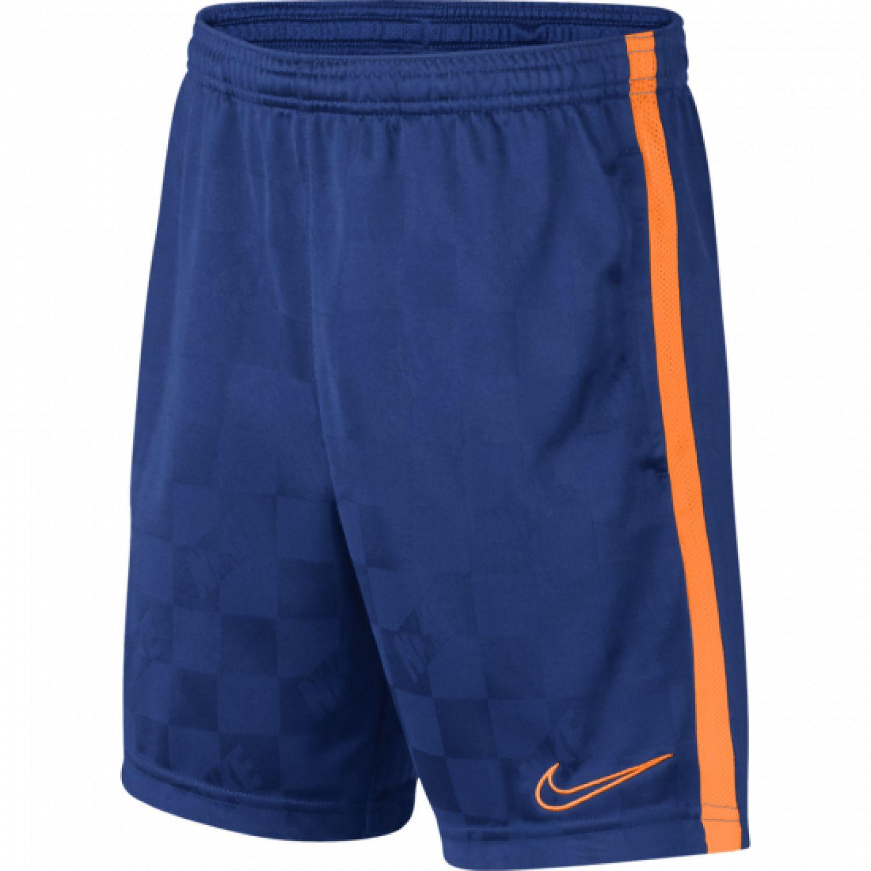 Nike B NK BRT ACDMY SHORT JAQ KP Azul Shorts Deportivos