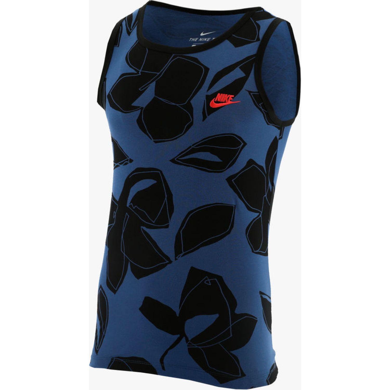 Nike M NSW TANK RS1 Azul / negro Camisetas y Polos Deportivos