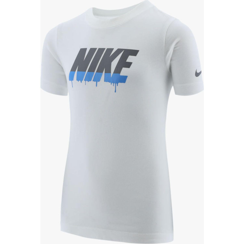 Nike B Nsw Tee Block Nike Drip Blanco Polos