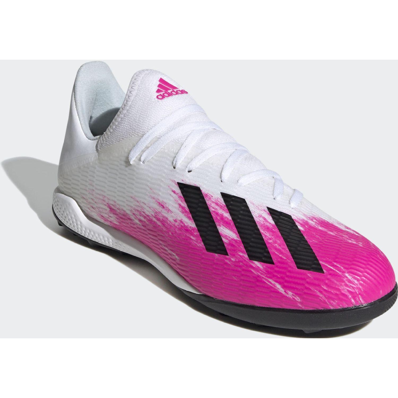 Adidas X 19.3 Tf Blanco / rosado Hombres