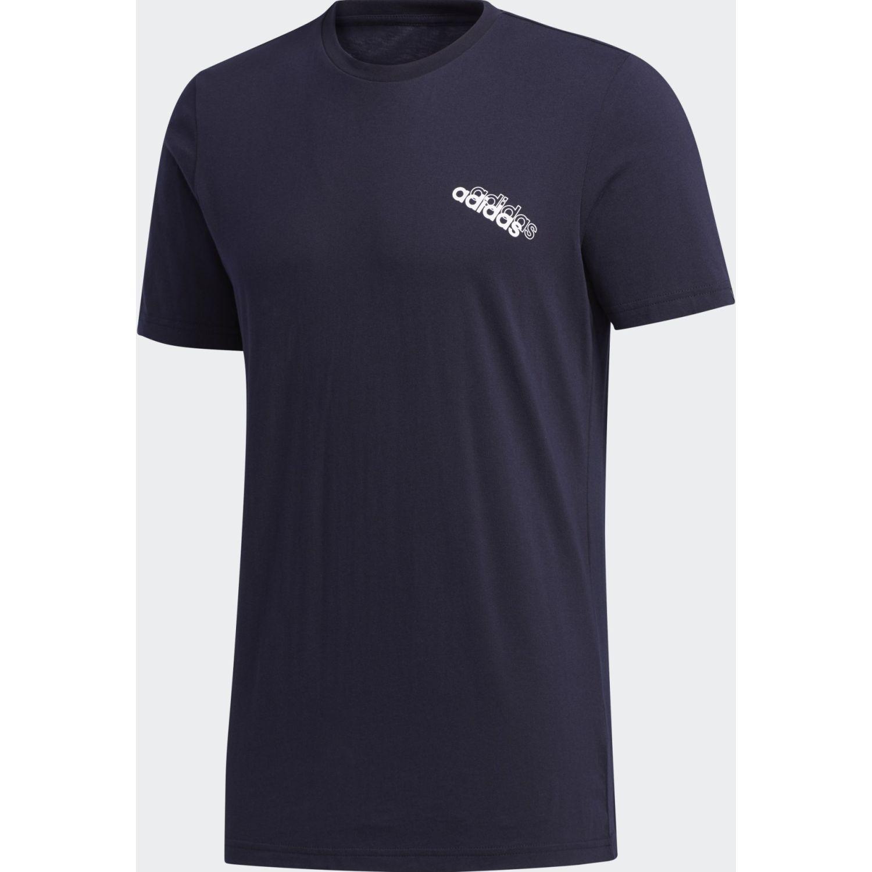 Adidas M Slntd Logo T Negro Camisetas y polos deportivos