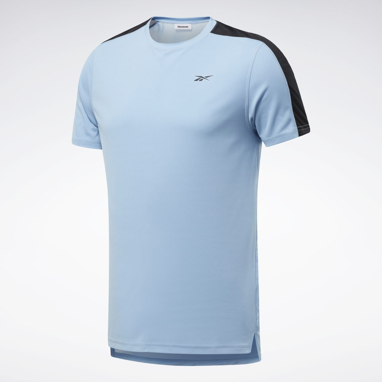 Reebok Wor Ss Tech Tee Celeste Camisetas y polos deportivos
